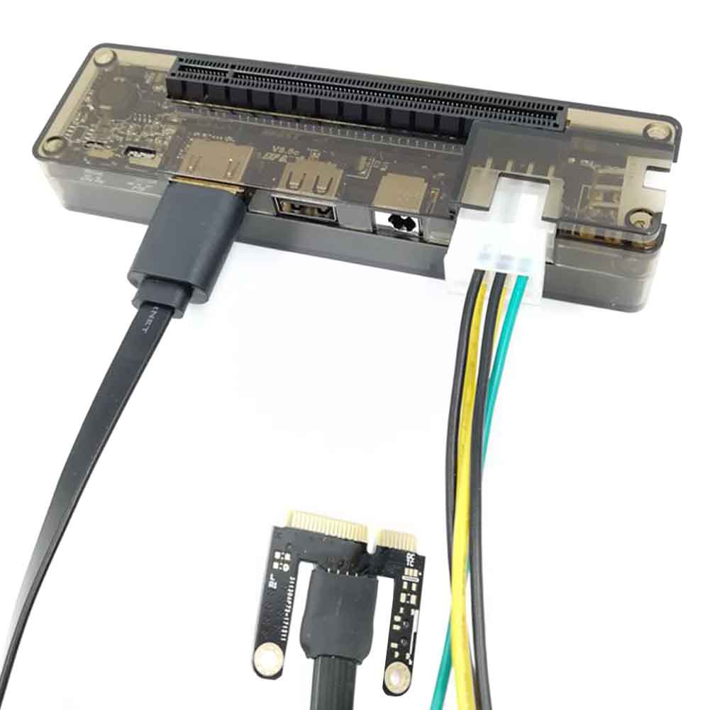 Independent Graphics Accessories Mini PCI E EXP GDC Expresscard Interface Rectangle Video Card <font><b>Dock</b></font> External <font><b>Laptop</b></font> For Beast image