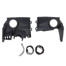 KEMIMOTO UTV Dash Panel Dashboard Speaker Mount Pods Set for Can Am Maverick X3 Max 2016 2018 2017