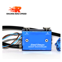 Universal adjustable Racing Turbocharger Boost Electronic Controller 30-90psi Dual Stage