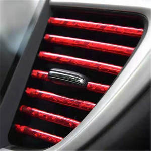 Decorative-Strip Grille-Switch Car-Accessories Embedded-Decoration Air-Ventilation Internal