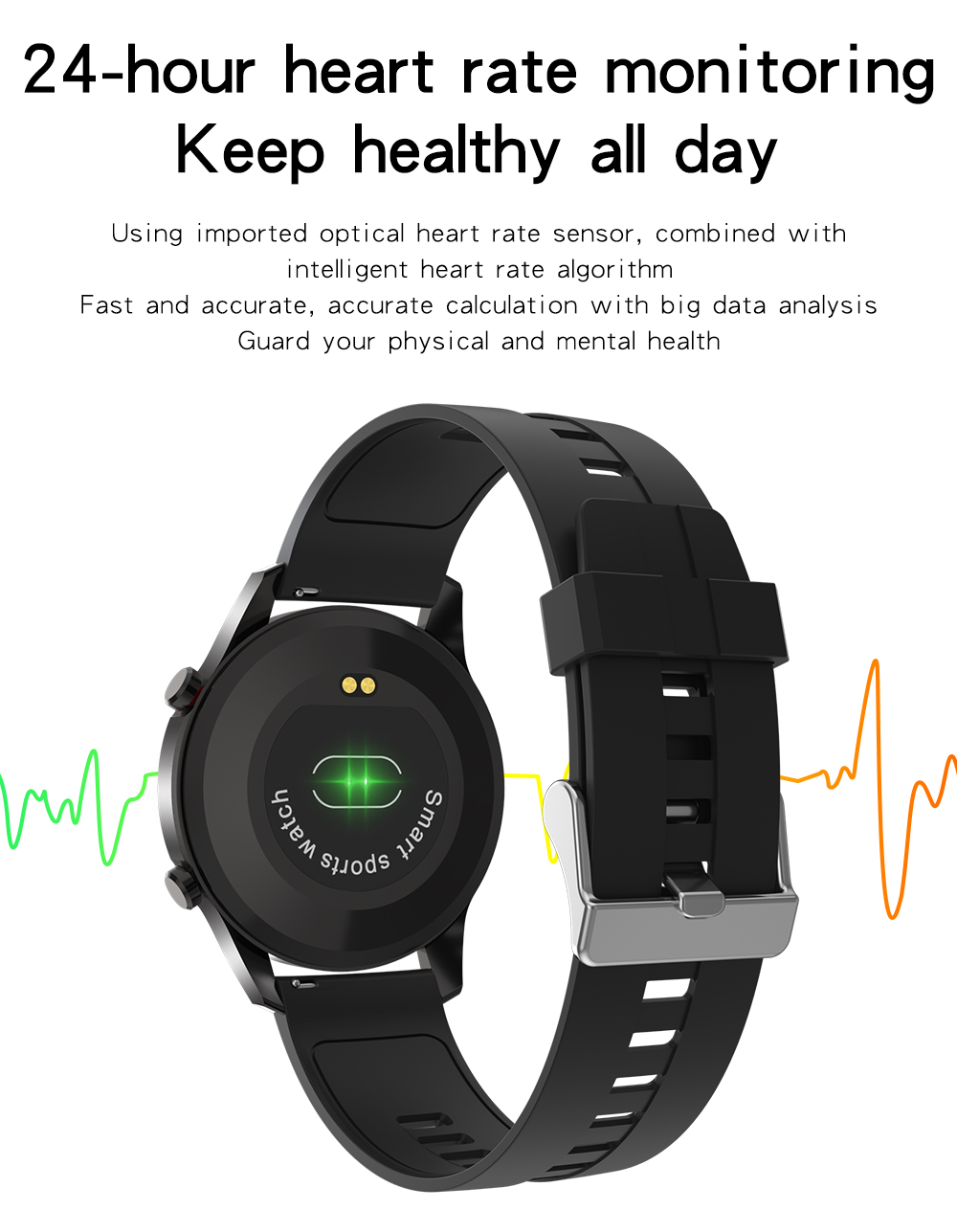 H8fca187200ac488d8edf2d4fda7202a0o XUESEVEN 2021 HD Full circle touch screen Mens Smart Watches IP68 Waterproof Sports Fitness Watch Fashion Smart Watch for men