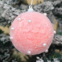 Pack of One Christmas Ball Pendant Foam Baubles Ornament Xmas Tree Home Holiday Party Decorations