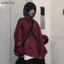 Vestes Harajuku pour femmes, Style BF, Chic, loisirs, résistant au soleil, veste de couple, fermeture éclair, Street passe-partout, populaire, vêtements d'extérieur pour adolescents