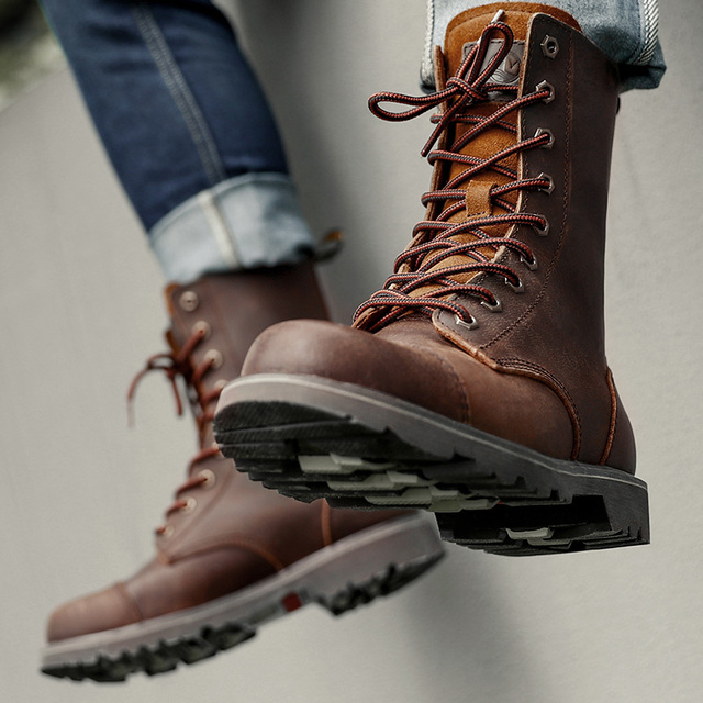 Hiking shoes Men Hunting Boots Tactical shoes Desert Combat Ankle Waterproof sneakers Leather Snow walking high-top Women's shoe 2