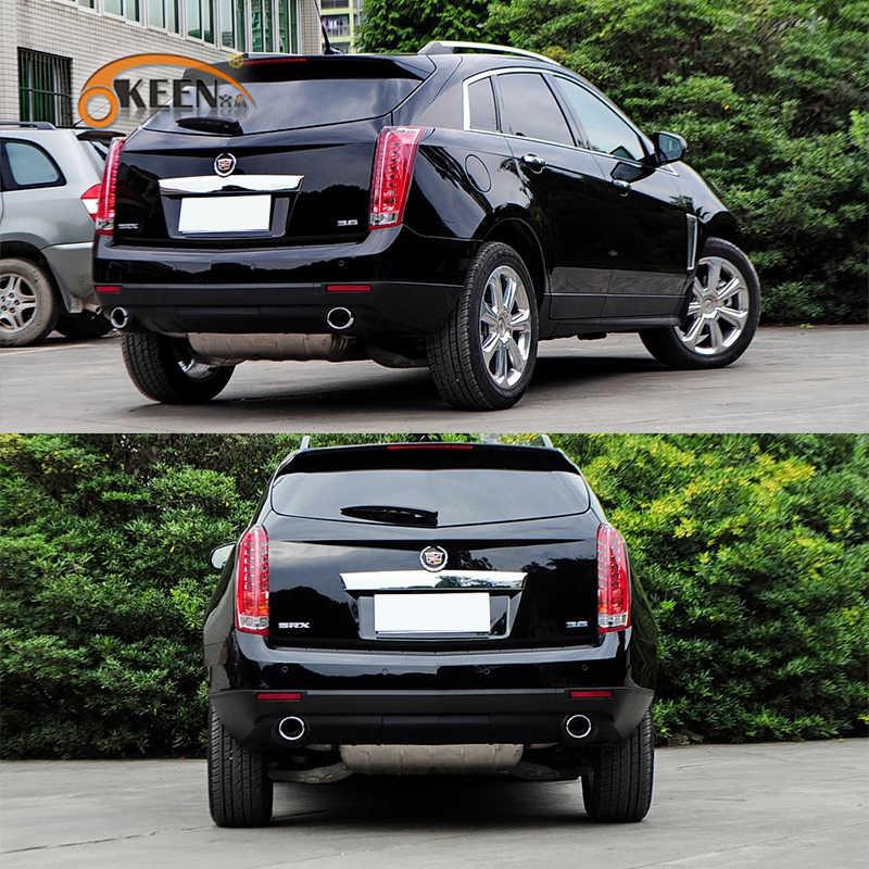 2 Stuks Voor Cadillac Srx 2010-2015 Achterbumper Led Reflector Remlicht Foglight Mistlamp Achterlicht Parking Light waarschuwing Lamp