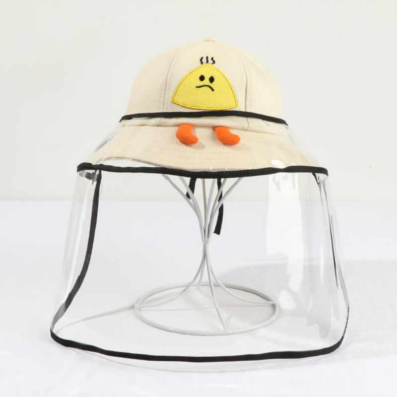 Kapelusz niemowlęcy dla chłopca lub dziewczynki maluch niemowlę dzieci kreskówka ochronna anty-ślina kapelusz przeciwsłoneczny letnie dziewczynek czapka kapelusze plażowe akcesoria
