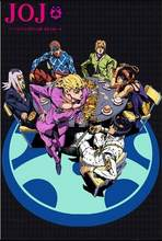 JoJo s Bizarre Adventure Action Japan Anime Art Print Silk Poster Home Wall Decor 24x36inch(China)