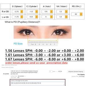 Image 5 - TR90 Glasses Frames Men Retro Small Round Prescription Glasses Women 2019 Vintage Myopia Optical Frames Eyeglasses Eyewear