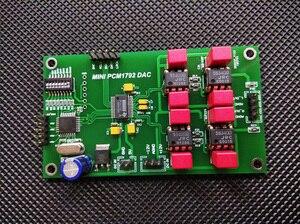 HIFI PCM1792 DSD DAC Audio Decoder Assembled Board 24Bit 192kHz Support Dual Parallel Mode H006(China)