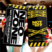 Kpop NCT 127 Neo Zone iphone 6/6s, 7 / 8 , 7Plus/8Plus, X , XS , XR , XSMax 11Pro 용 전화 케이스(China)