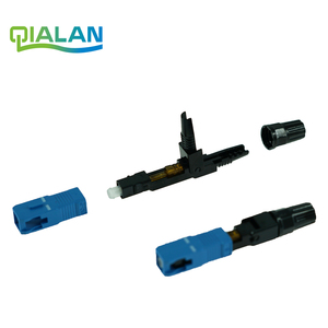Image 3 - SC UPC Fast Connector FTTH Optical Connectors Embedded Connector FTTH Tool Cold Fiber Fast UPC Connector