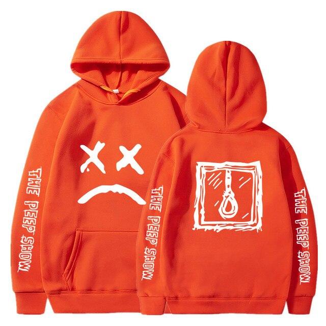 Hip Hop Lil Peep Hoodies Hell Boy Men Women Hooded Pullover Male Female Sudaderas Cry Baby Hood Hoddie Sweatshirts