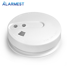 Home Security smoke detector alarm Portable High Sensitive Stable Independent alarm Smoke Detector high sensitive security system independent wireless smoke detector fire home garden safety alarm alert sensor with battery
