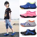 Children Elastic Breathable Water Shoes Boys Girls Quick-Dry Upstream Beach Swimming Sneakers Non Slip Wearproof Wading Shoes