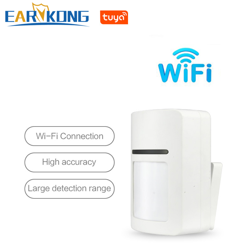 Tuya Smart WiFi Infrared Detectors Motion Sensor Alarm Compatible With Tuyasmart APP Smart Life APP