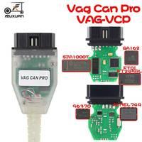 Professiona VAG CAN PRO CAN BUS + UDS + K-line SW Versione 5.5.1 VCP Scanner OBD2 auto diagnostica scanner strumento
