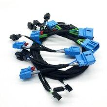 Adaptador dinámico de luz trasera para vw Passat B8, arnés de cable de luz trasera Original y secuencial