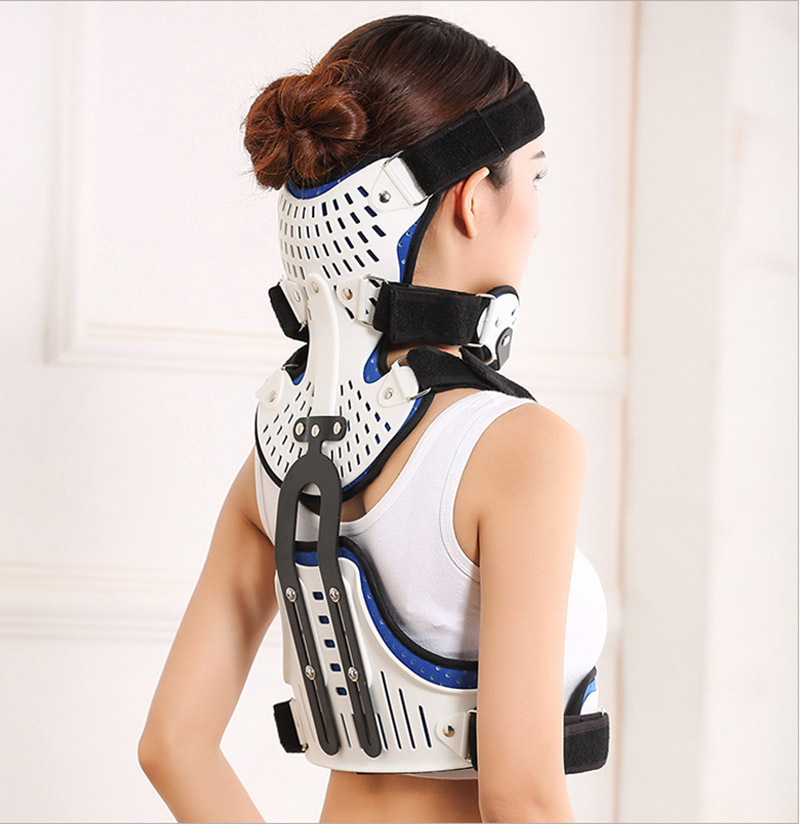 Head and neck and thoracic support brace orthopedic cervical support thoracic cervical spine head fracture support J2298