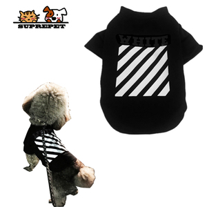 Suprepet Dog T-shirt Summer Dog Clothes Tee Shirt Coat Cat Puppy Clothing Outfit Yorkie Poodle Pomeranian Small Dog Costumes(China)