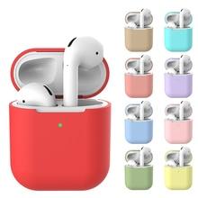 Apple airpods 1/2ワイヤレスbluetoothヘッドフォンイヤホンケース保護カバーのためのポッド2 1ケース