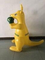 New Style INS Hot Sales Australia Children Environmentally Friendly PVC Inflatable Kangaroo Creative Children Toy Doll