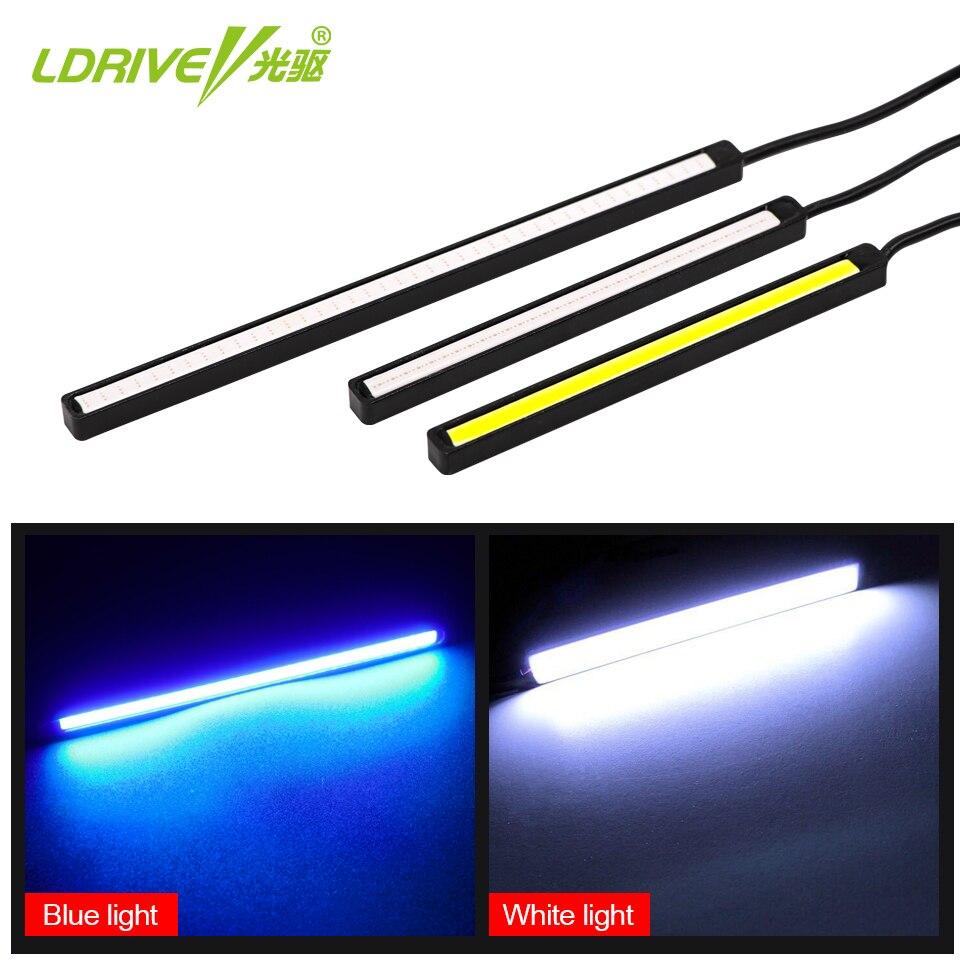 2Pcs / Lot LED i papërshkueshëm nga uji LED Dita e Dritës duke - Dritat e makinave - Foto 2