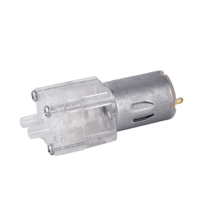 Clear 280 Water Pump Long Life Type Diaphragm Pump DC 12V, 0.8L/min, Head 1.5 Meters, Mute Micro Water Pump, Heat Insulation