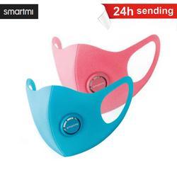 SmartMi KN95 çocuk maskesi 1 adet çocuk karşı koruma damlacık Haze-geçirmez güçlü filtrasyon N95/PM2.5