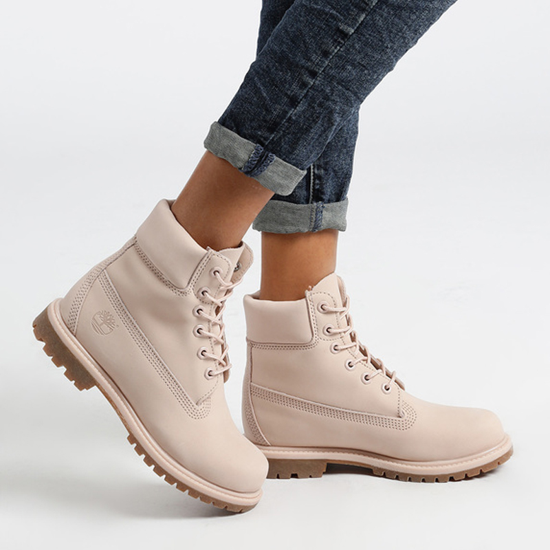 Timberland Boots woman premium 6 inch pastel pink image