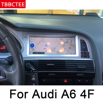 For Audi A6 4F 2005 2006 2007 2008 2009 MMI Car Radio GPS Android Navigation AUX Stereo multimedia player touch screen original for audi q7 4l 2005 2010 mmi android car radio amplifier gps navigation multimedia player wifi bt navi map hd