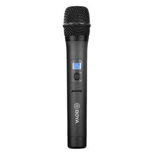 Image 2 - BOYA BY WHM8 Pro Microphone tenu dans la main UHF transmetteur de micro dynamique unidirectionnel sans fil pour récepteur de Film de scène ENG BY WM8 Pro