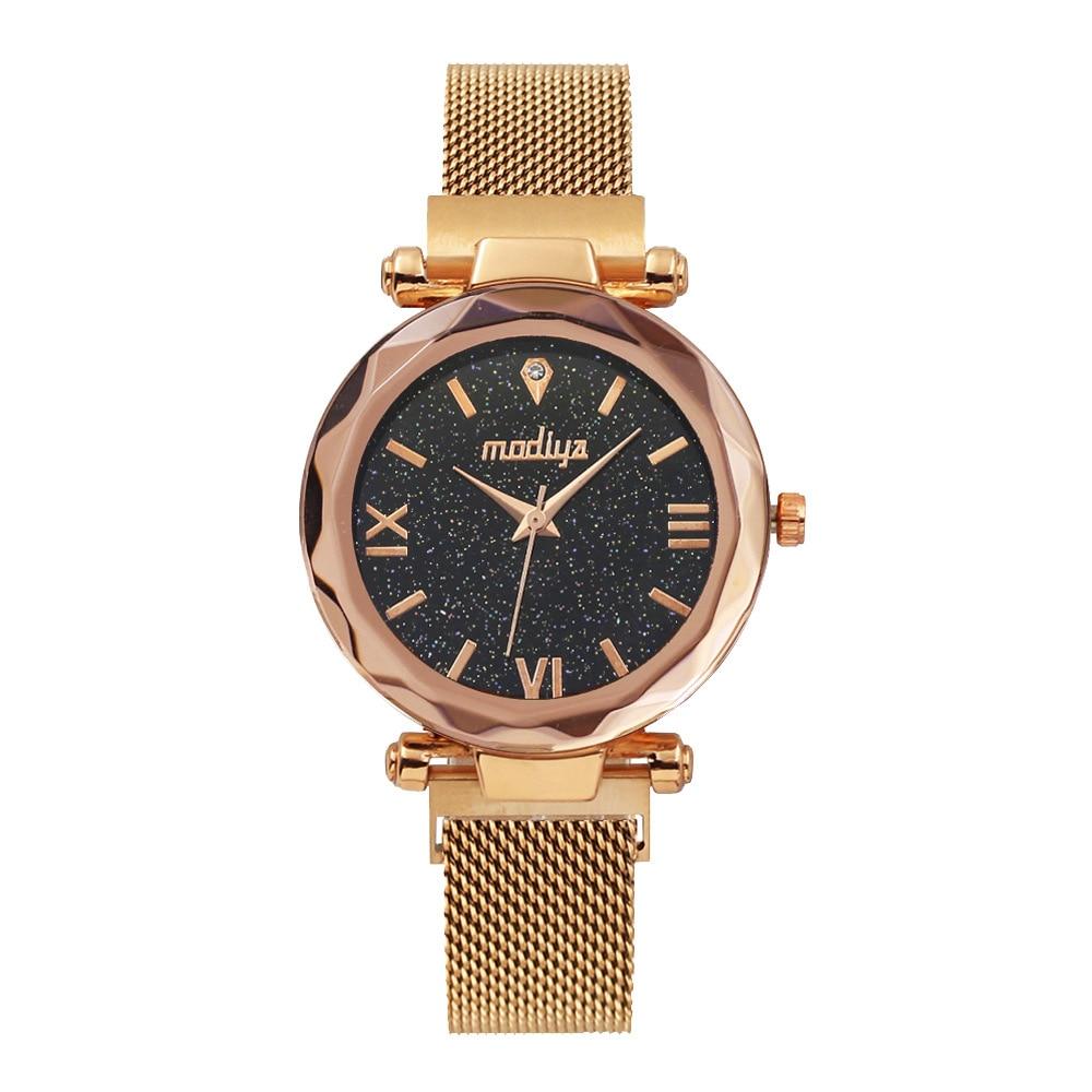 Ladies Watch For Women Female Clock Wristwatch Women Watches Luxury Magnetic Starry Sky Reloj Mujer Relogio Feminino 2020 NEW