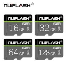 Cartão de memória de alta velocidade do micro sd 32 gb 16 gb 8gb cartão de memória de tarjet microsd tf cartão 64gb 128gb classe 10
