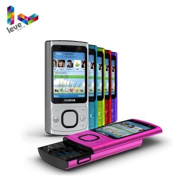 Мобильный телефон Nokia 6700, раздвижной телефон, камера 6700 S, 5,0 МП, Bluetooth, Java, разблокированный и бывший в употреблении мобильный телефон
