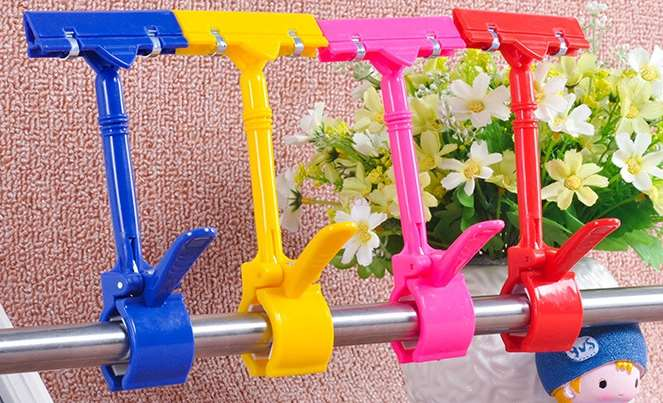 5pcs Poster Large Thumb Clip / POP Price Tag Clip / Advertising Supermarket Product Promotion / Explosive Sticker Clip