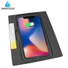 10W Qi Wireless Charger quick Wireless Charging Car console Wireless Charger For Toyota Camry 2018 for iphone 8 X XS max car wireless charger for lexus nx wireless charging standard wpc qi 1 2