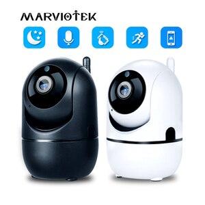 Image 1 - 1080P 무선 IP 카메라 와이파이 지능형 자동 추적 미니 카메라 HD 홈 보안 네트워크 3MP CCTV 카메라 베이비 모니터 와이파이