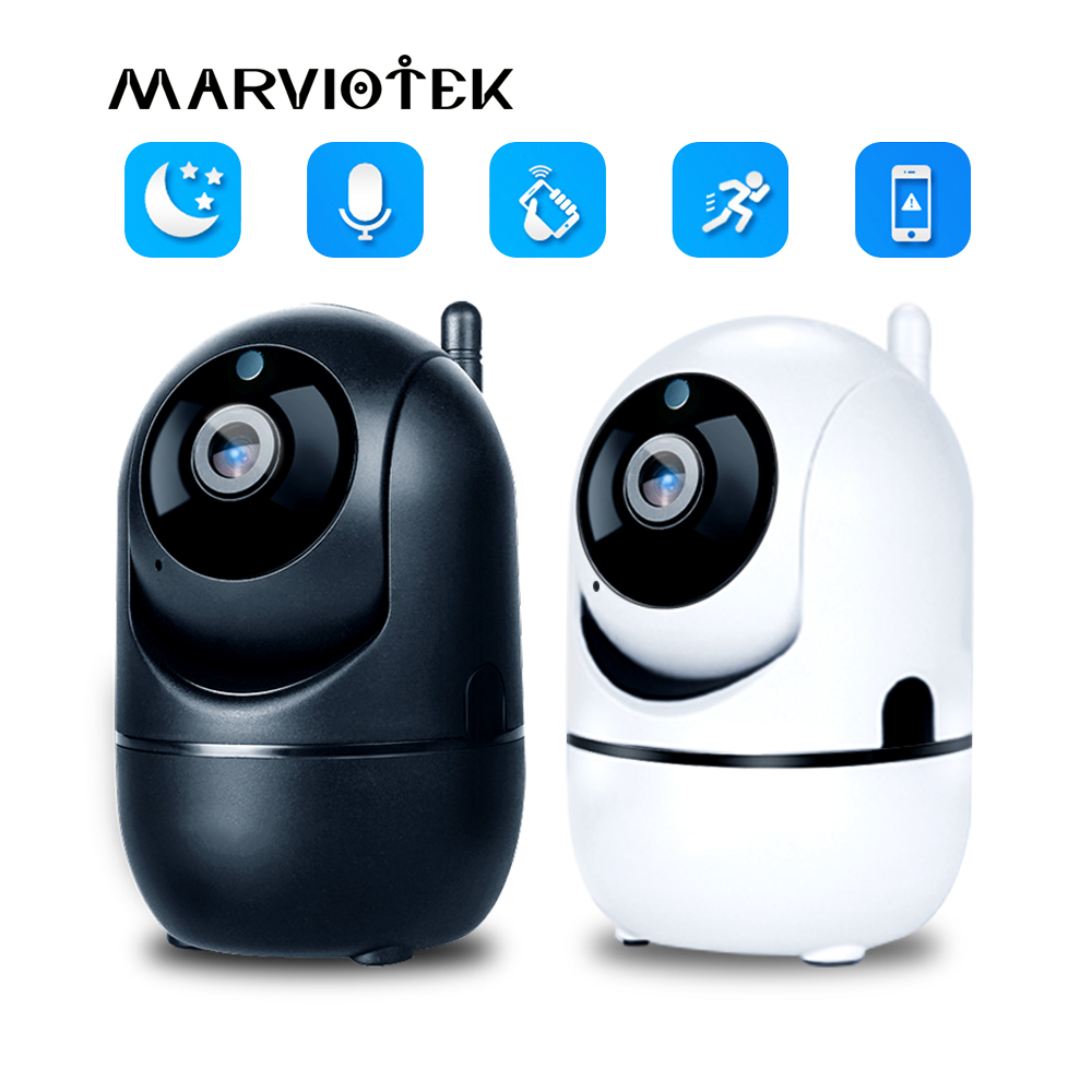 1080P Wireless IP Camera Wifi Intelligent Auto Tracking Human Home Security Network CCTV Camera Motion Detection mini Camera HD
