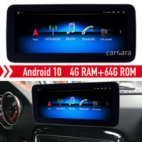 W463 dvd player retrofit android 10 touch display for G class headunit ntg radio comand system update gps navigation screen