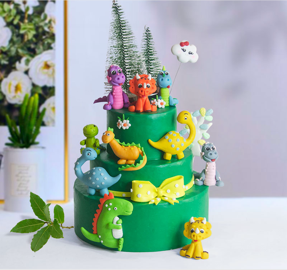Dinosaur Party Cake Topper Dinosaur Jungle Safari Birthday Party Decor Boy Dinosaur Cake Decor Jurassic World Party Decor