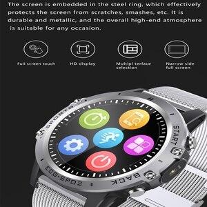 Image 3 - P8 ساعة ذكية PPG ECG كامل اللمس HD شاشة Smartwatch مع كاميرا جهاز تعقب للياقة البدنية متعددة الرياضة سوار ذكي IP68 مقاوم للماء