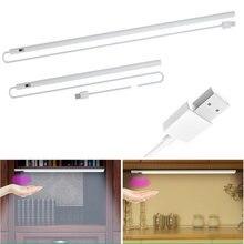 Смарт usb под шкаф светильник 120 ° pir датчик движения кухня