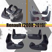 Mudguards For Renault kadjar fenders fluence splash guards koleos mud flaps latitude 2008-2019