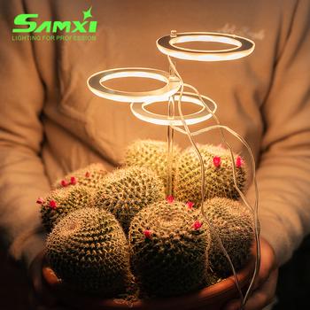 Oświetlenie LED do uprawy Full Spectrum Phyto Grow lampa USB Phytolamp dla roślin 5V lampa dla roślin oświetlenie wzrostu roślina doniczkowa tanie i dobre opinie samxi CN (pochodzenie) ROHS zw-09A 10CM Grow Light Fluorescencyjna Lampy do hodowania roślin 3 year