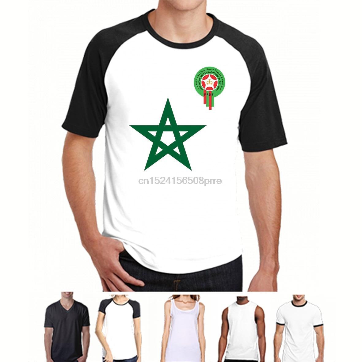 100% Cotton O-neck Custom Printed Men T shirt Morocco(1) Women T-Shirt