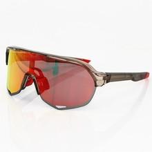 купить Photochromic  S2 3 Lens polarized Outdoor Sports Bicycle Sunglasses Gafas ciclismo MTB Cycling Glasses Eyewear Peter дешево