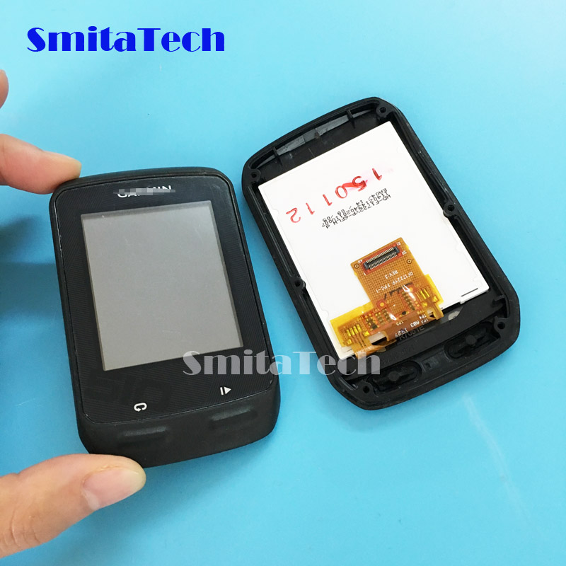 2.3 Inch GPS Lcd Screen With Touch Screen With Front Frame Panel For Garmin Edge 510 Edge510 Bicycle Speed Meter Lcd Tested Well