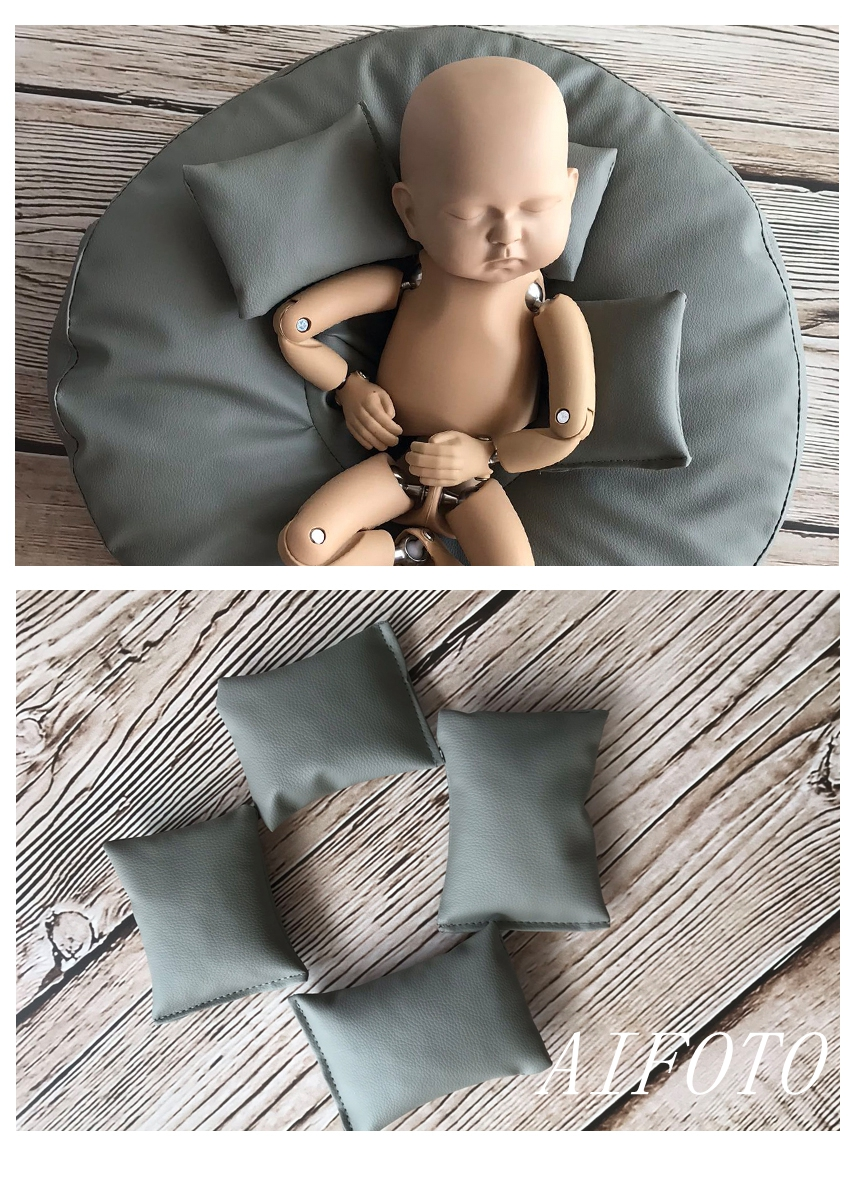 Newborn Photography Props Framed Bean Bag Background Stand Baby Bags Photo Shooting Studio Fotografia Accessory Almighty Trumpet
