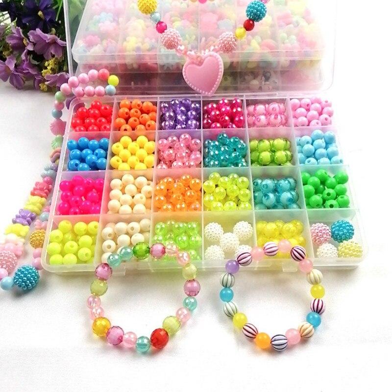 A 24 Children Beads Beads Toys Children Diy Beads Kindergarten Handmade Material Bags Arts & Crafts, DIY Toys