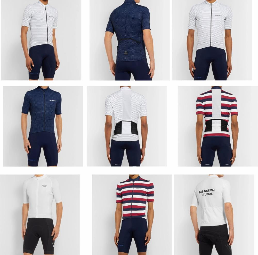 Cycling-Jersey Road-Bike-Clothes Pas Normal STUDIOSS Breathable Summer Simple And CAFE